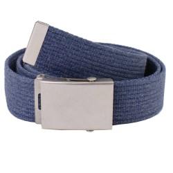 Pasek parciany jeansowy do spodni niebieski - rolka