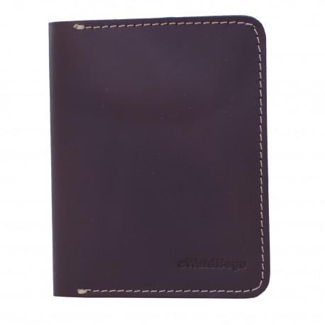 7dedf40429dd8 Portfel Slim Wallet Męski Cienki Skórzany Brązowy